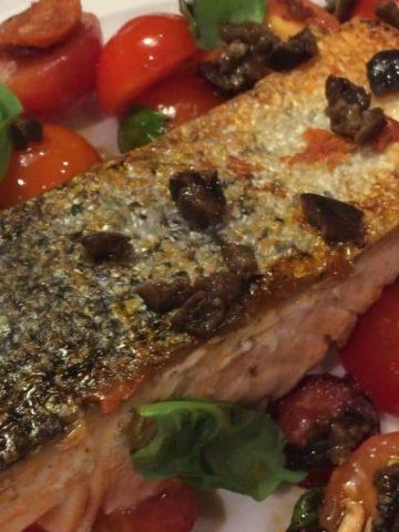 Smoky Chorizo Salmon