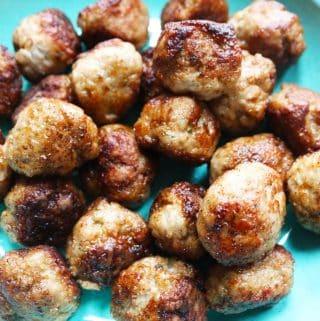 Greek Lamb Meatballs (Thermomix), Greek Lamb Meatballs (Thermomix)