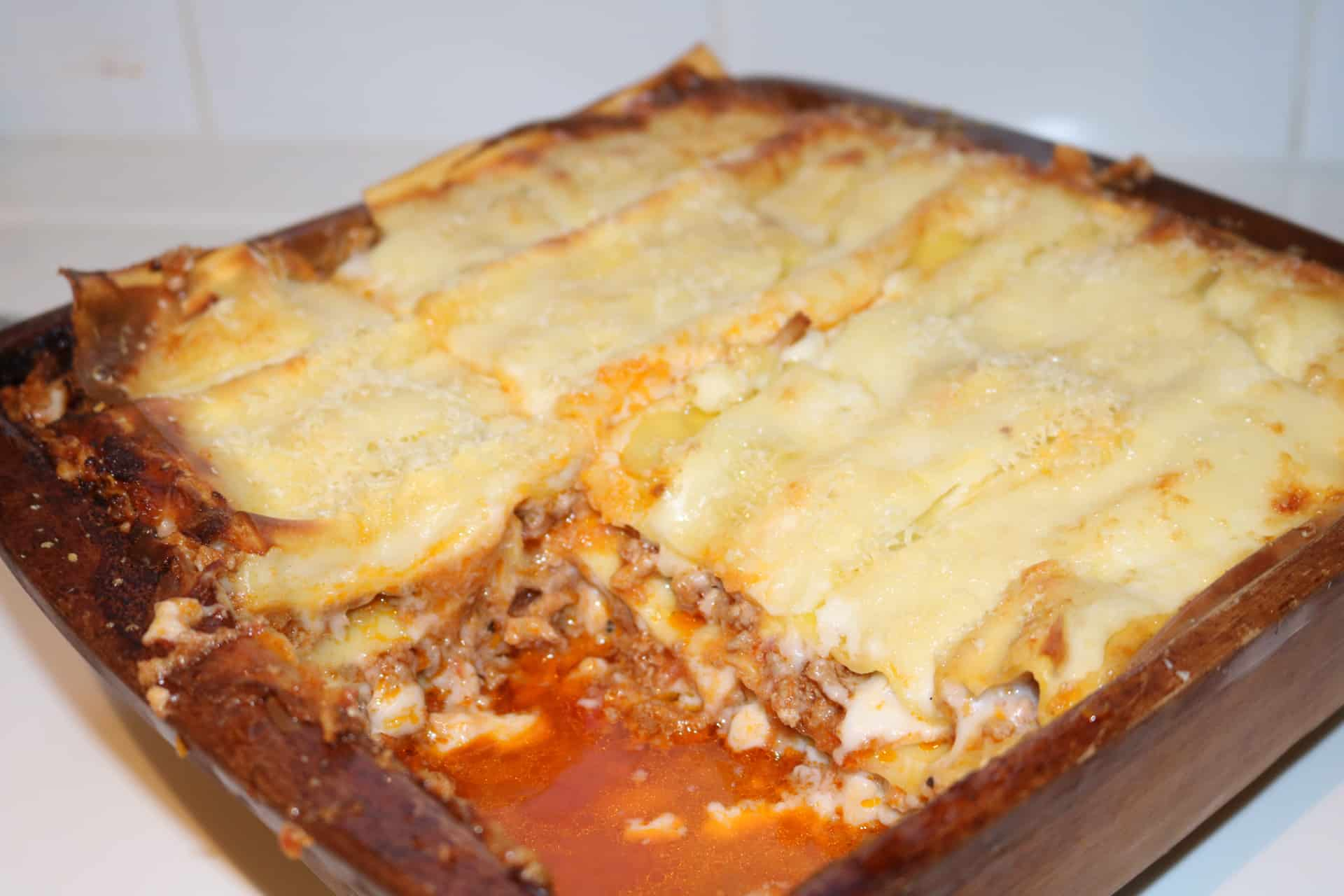 Lasagne Bolognese (Thermomix), Lasagne Bolognese (Thermomix)