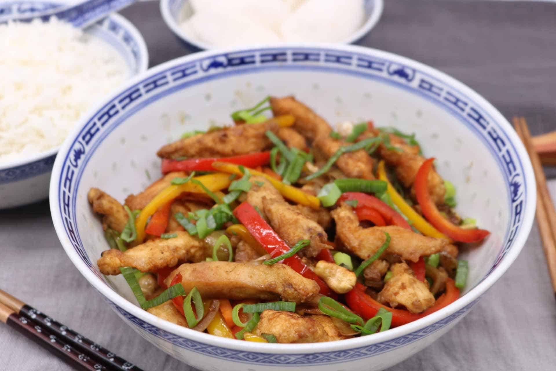 Chicken and Cashew Nut Stir-Fry, Chicken and Cashew Nut Stir-Fry