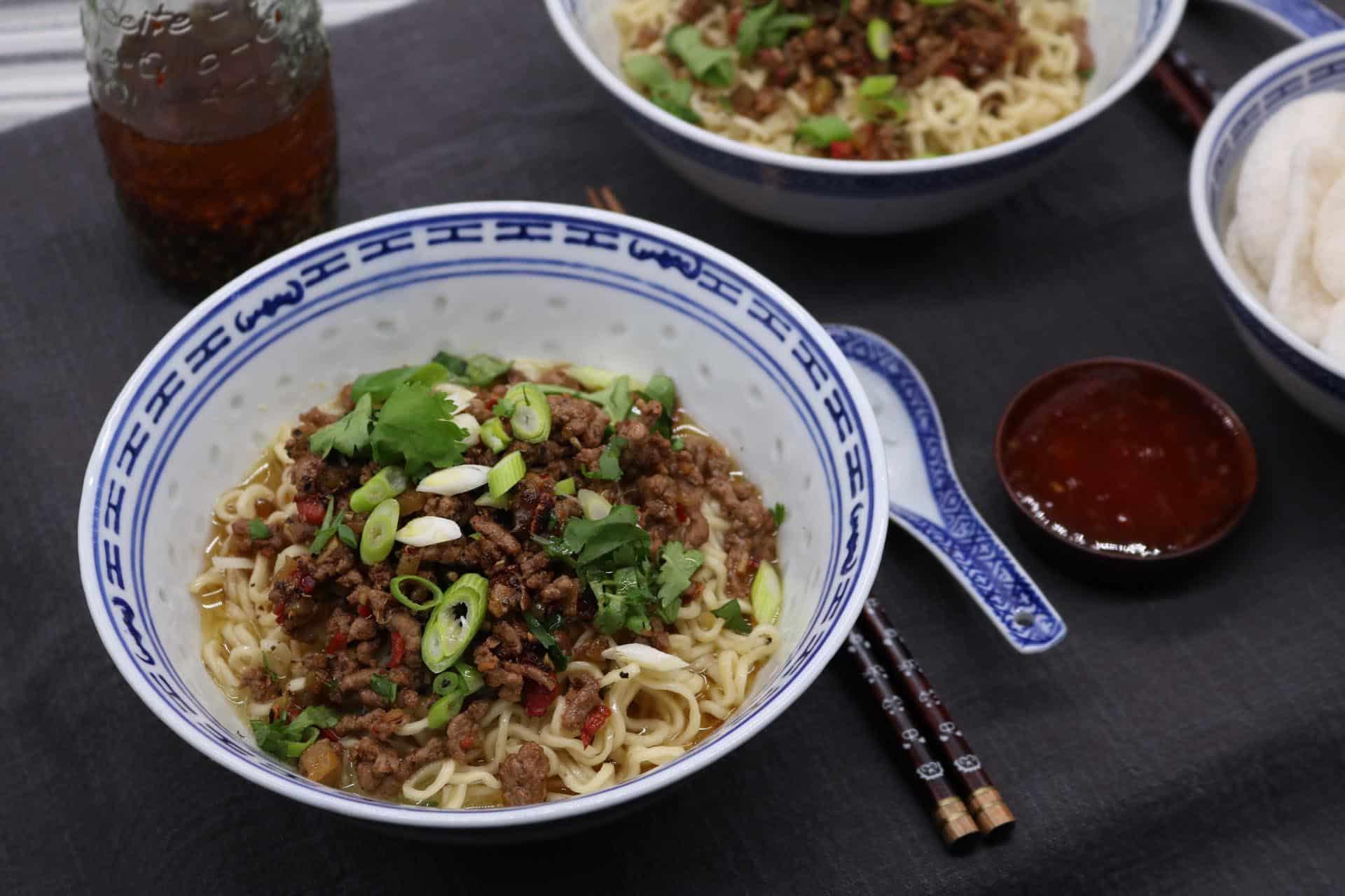 Dan Dan Noodles, Dan Dan Noodles
