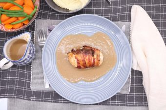 Chicken Balmoral with Whisky Sauce, Chicken Balmoral with Whisky Sauce