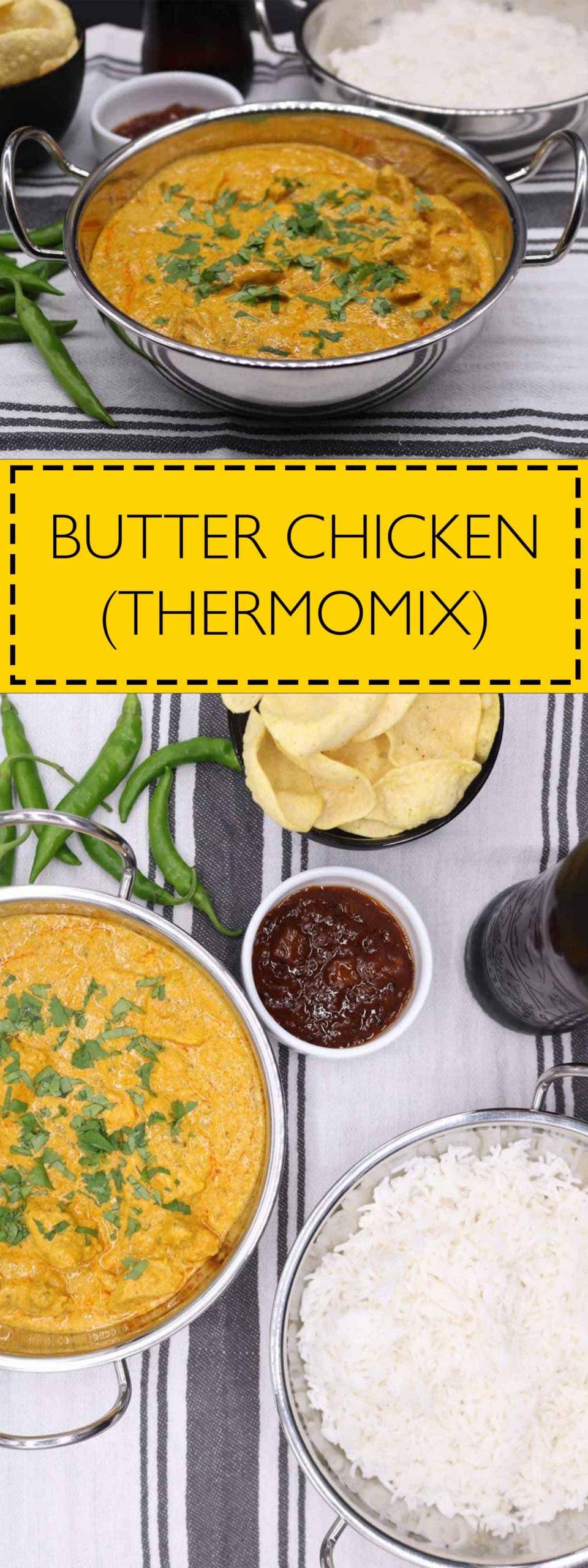 Butter Chicken (Thermomix), Butter Chicken (Thermomix)