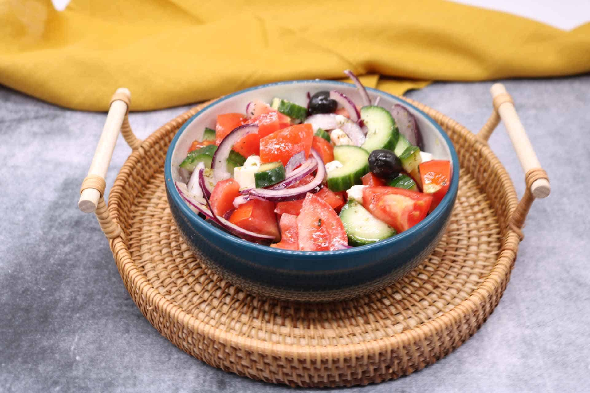 Greek Salad, Greek Salad