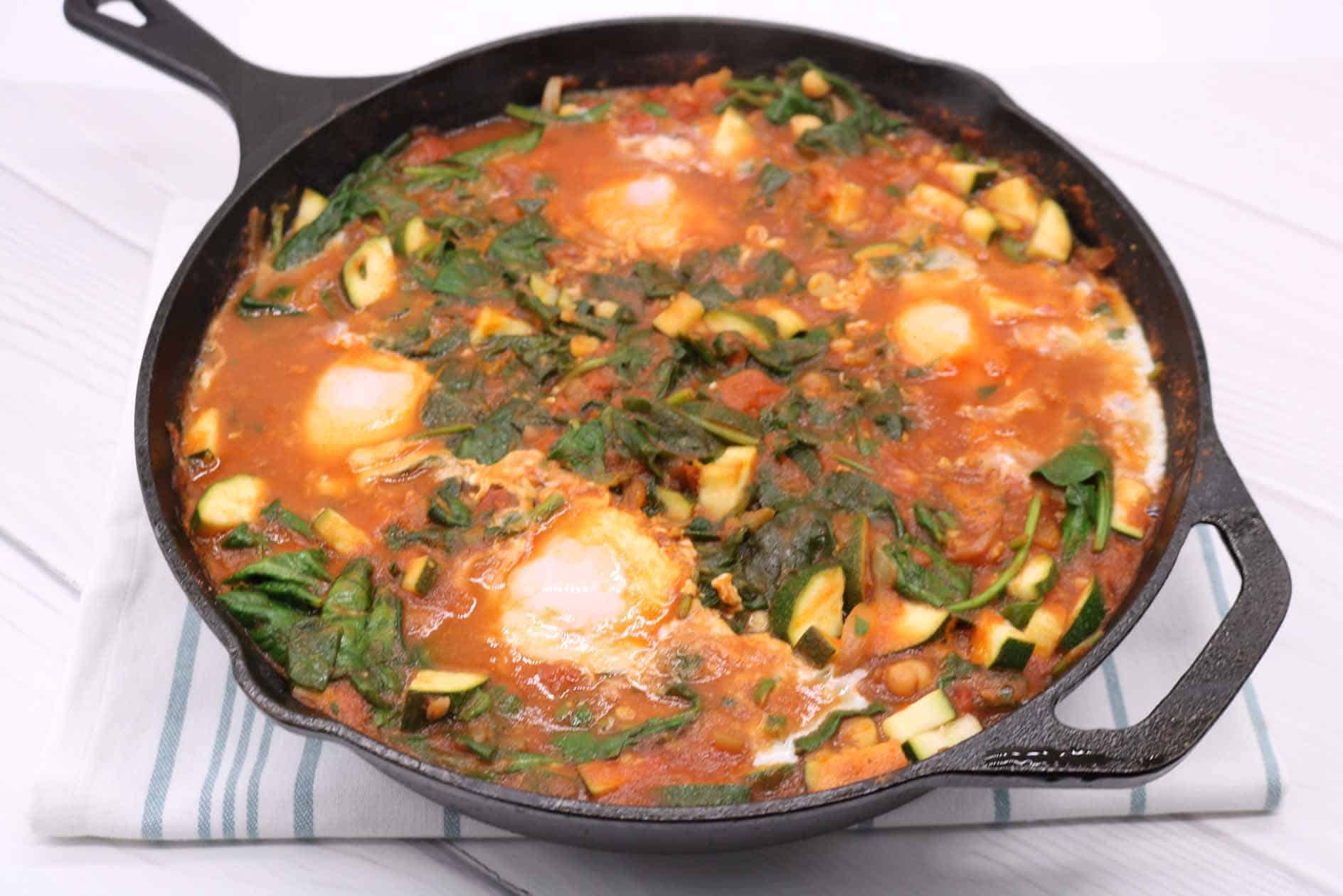 Spicy Moroccan Eggs, Spicy Moroccan Eggs