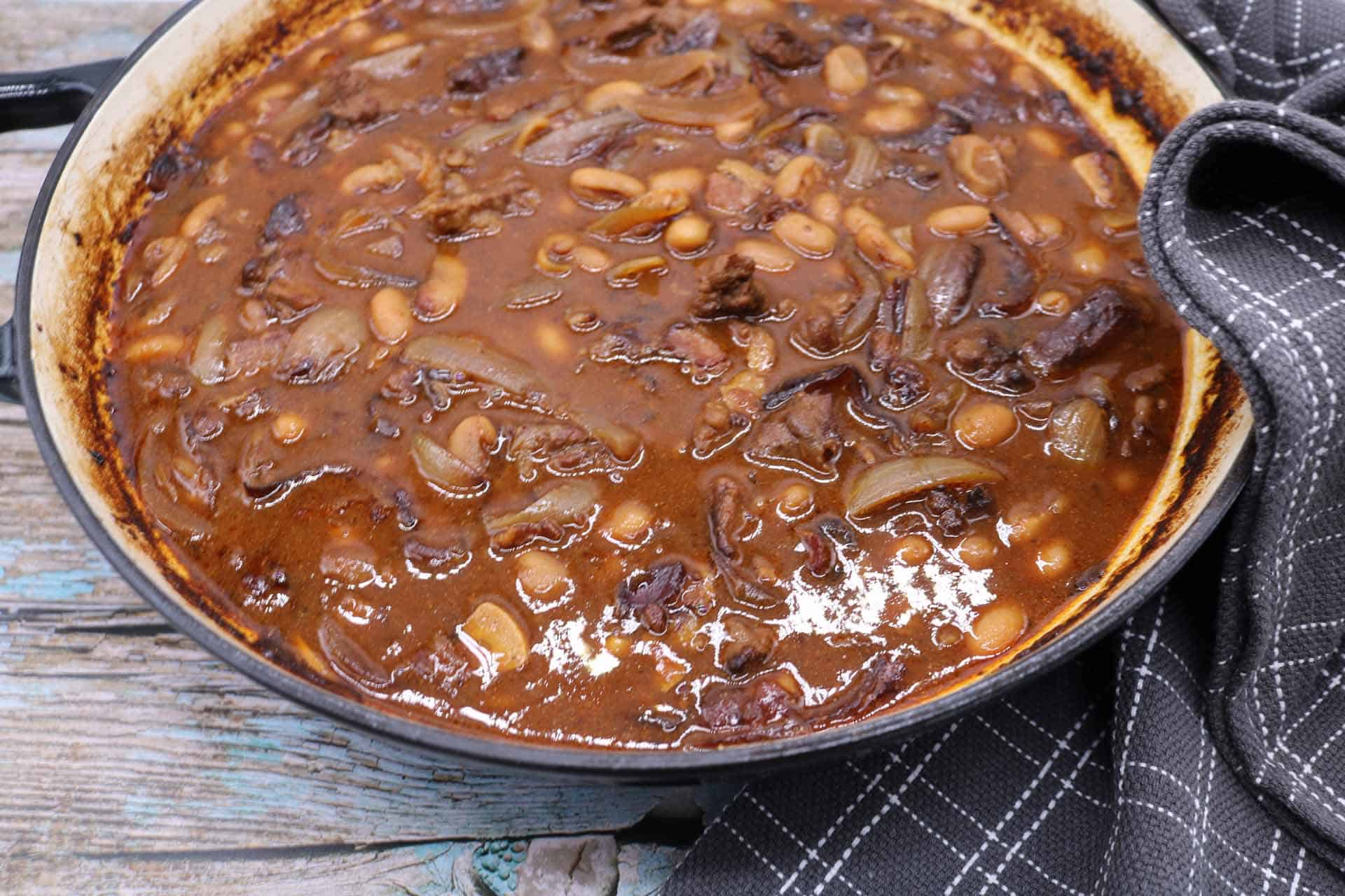 Beef and Boston Baked Beans, Beef and Boston Baked Beans