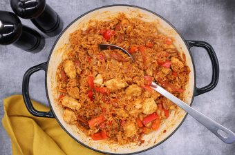 Chicken and Chorizo Jambalaya, Chicken and Chorizo Jambalaya