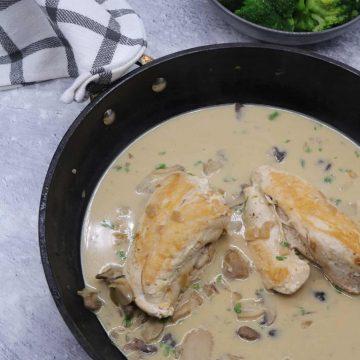 Creamy Mushroom Chicken, Creamy Mushroom Chicken