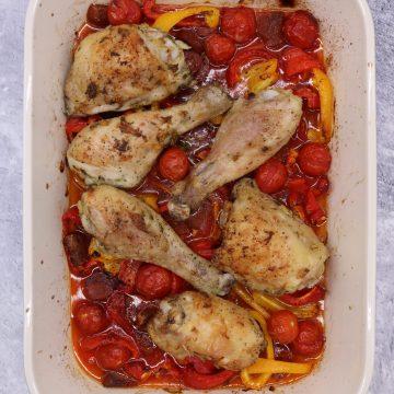 Spanish Chicken Traybake, Spanish Chicken Traybake