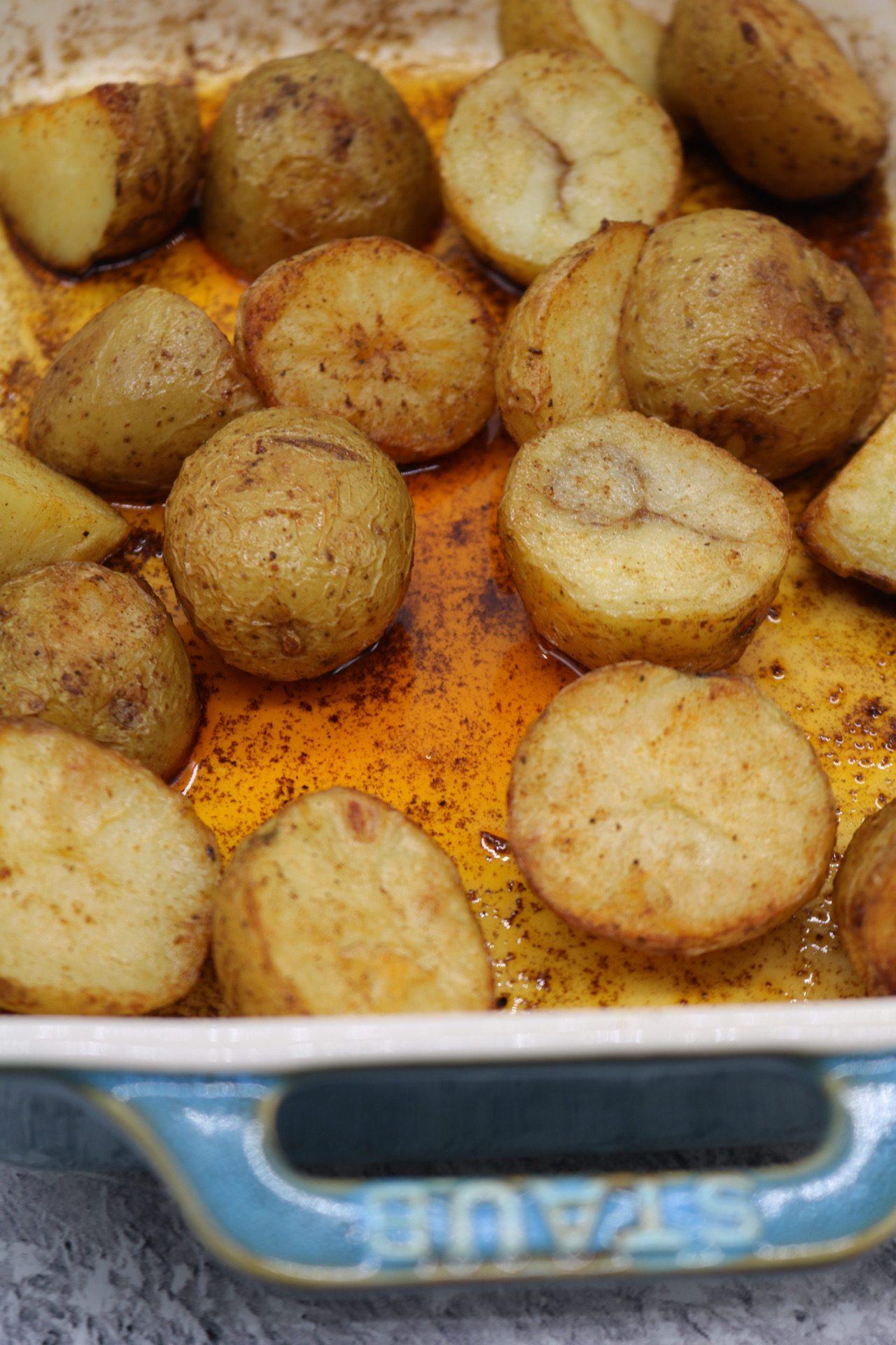 Spanish-Style Roast Baby Potatoes, Spanish-Style Roast Baby Potatoes