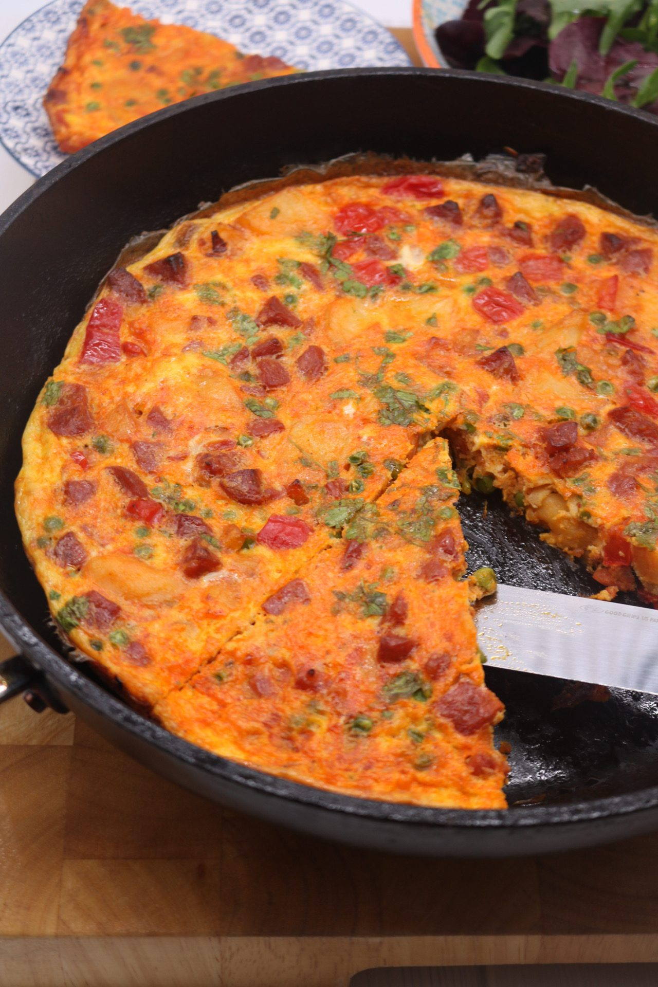 Chorizo Frittata, Chorizo Frittata