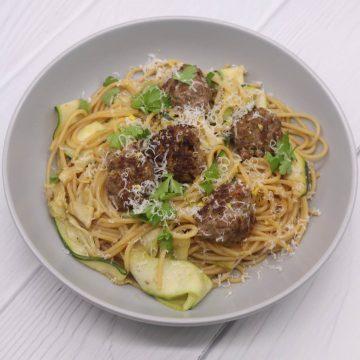 Summer Meatballs and Spaghetti, Summer Meatballs and Spaghetti