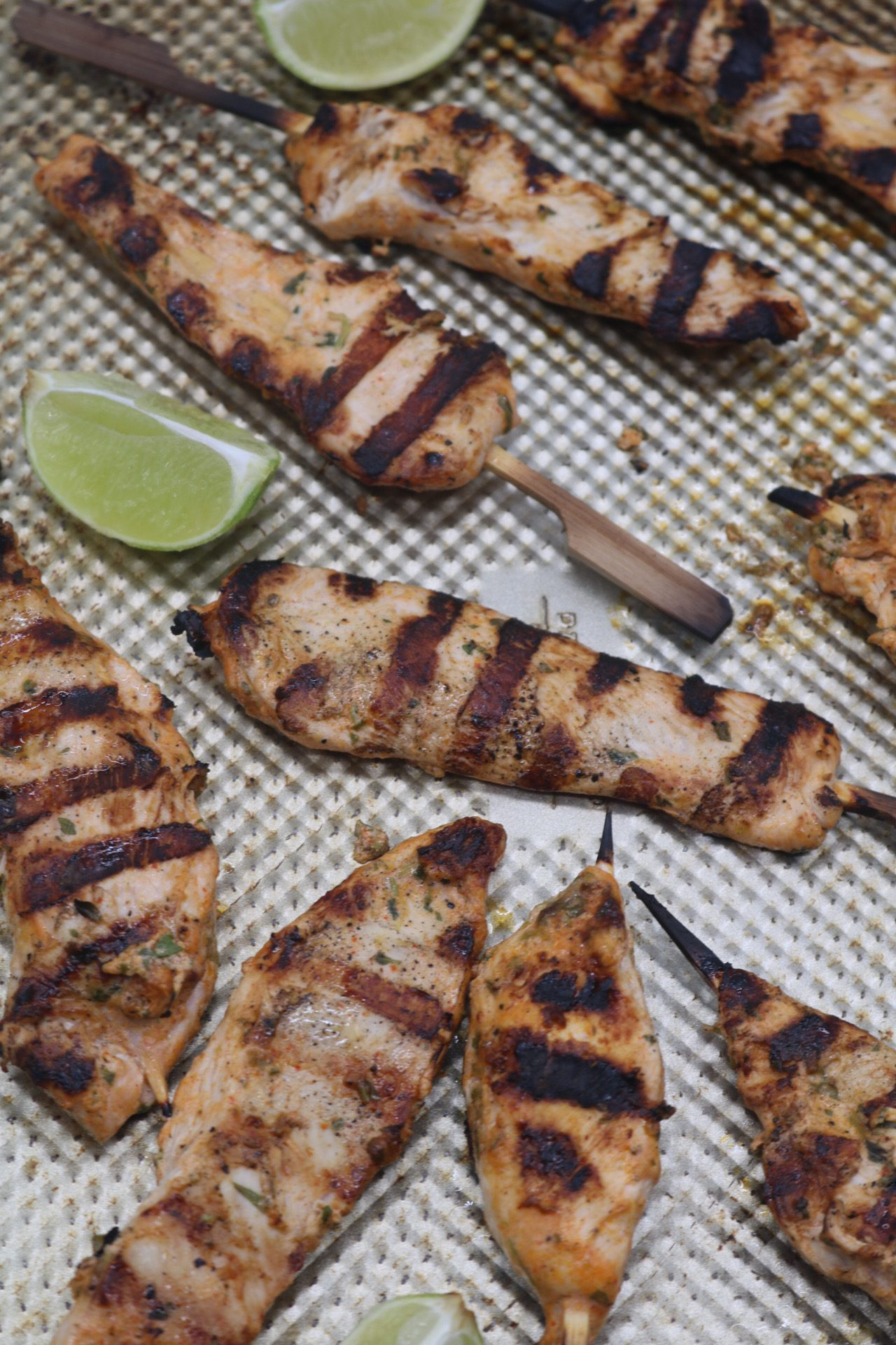 Sriracha and Lime Marinated Chicken Skewers, Sriracha and Lime Marinated Chicken Skewers